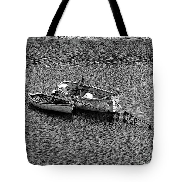 Two Old Rowboats Tote Bag by Kathleen Struckle