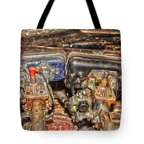 Two Old Seagulls  Tote Bag by Brian Roscorla