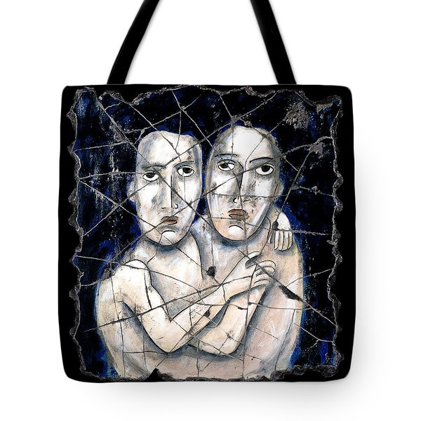 Two Souls Tote Bag by Steve Bogdanoff