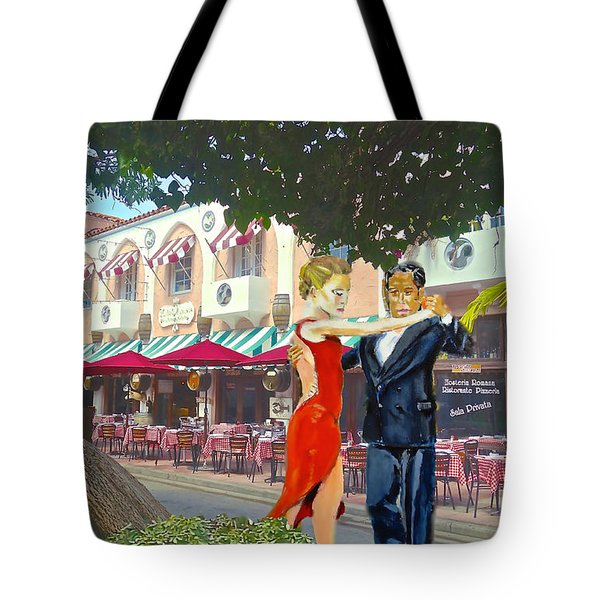 Two To Tango Tote Bag by Judy Kay