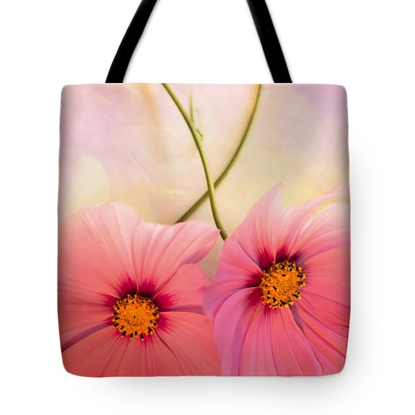 Two's Company Tote Bag by Jan Bickerton