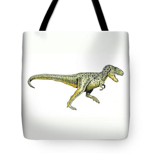 Tyrannosaurus Rex Tote Bag by Michael Vigliotti