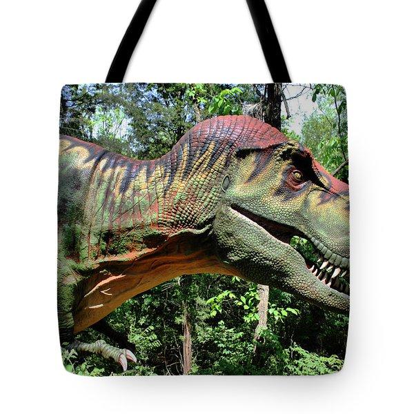 Tyrannosaurus Rex  T. Rex Tote Bag by Kristin Elmquist