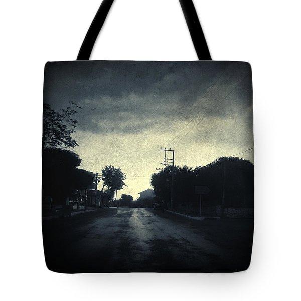 U-turn Tote Bag by Taylan Apukovska