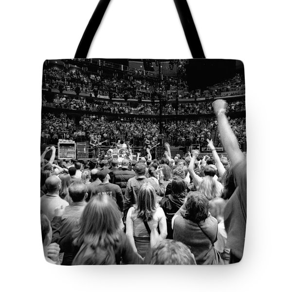 U2-crowd-gp13 Tote Bag by Timothy Bischoff