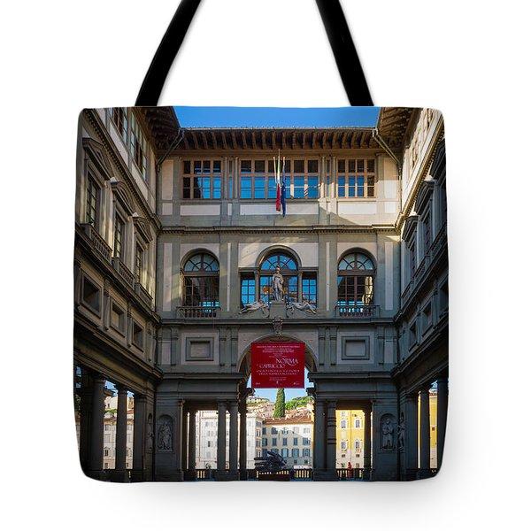 Uffizi Tote Bag by Inge Johnsson