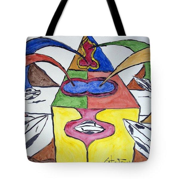 Ufo Base Tote Bag by Stormm Bradshaw