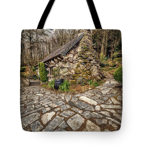 Ugly Cottage Tote Bag by Adrian Evans