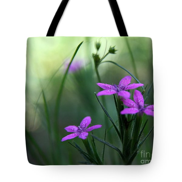Ultra Violet Tote Bag by Neal  Eslinger