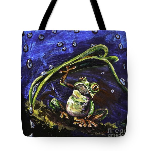 Umbrella Tote Bag by Lovejoy Creations