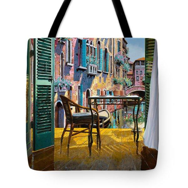 Un Soggiorno A Venezia Tote Bag by Guido Borelli