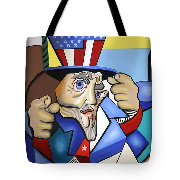 Uncle Sam 2001 Tote Bag by Anthony Falbo