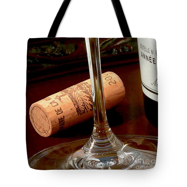 Uncorked Tote Bag by Jon Neidert