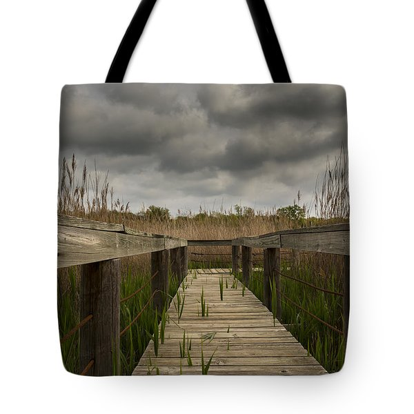 Under The Boardwalk Tote Bag by Jonathan Davison