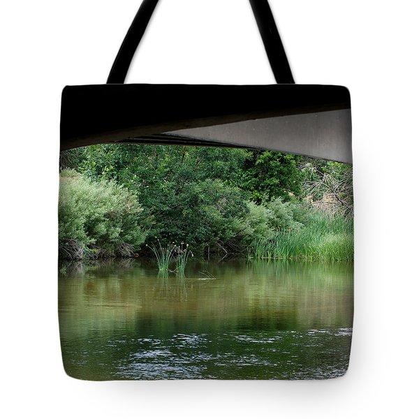 Under The Bridge Tote Bag by Ernie Echols
