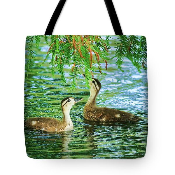 Under The Canopy Tote Bag by Deborah Benoit
