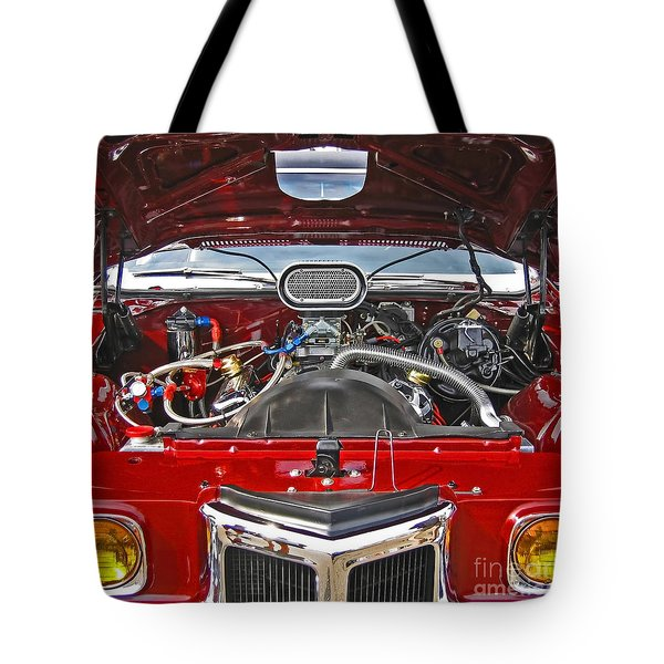 Under The Hood Tote Bag by Ann Horn