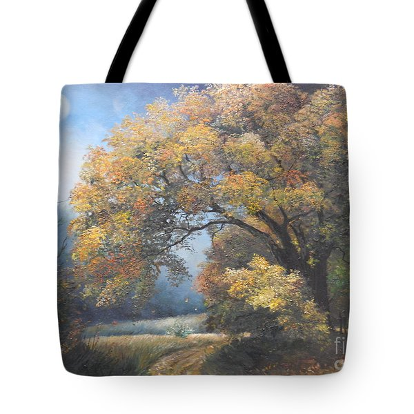 Under the moonlight  Tote Bag by Sorin Apostolescu