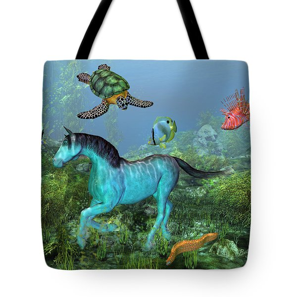 Under The Sea II Tote Bag by Betsy C  Knapp