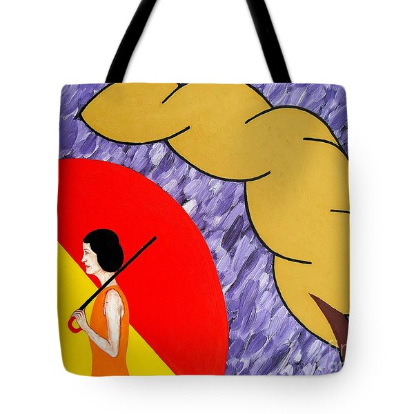 UNDER THE SHELTER OF YOUR LOVE Tote Bag by Patrick J Murphy