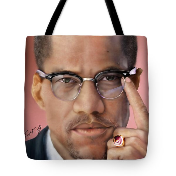 Under The X Factor 2 Tote Bag by Reggie Duffie