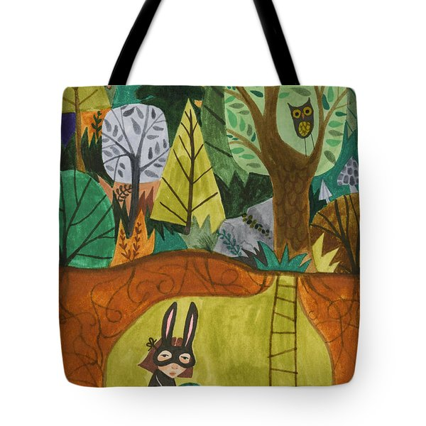 Underground Tote Bag by Kate Cosgrove
