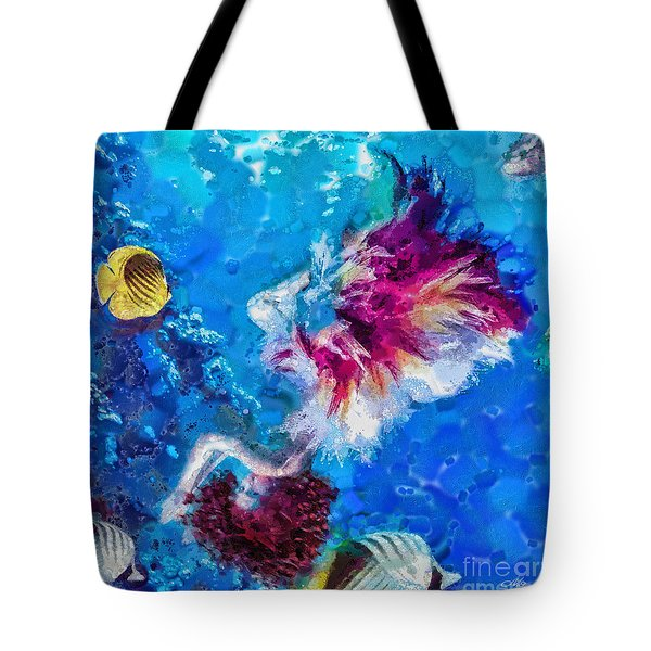 Underneath Tote Bag by Mo T
