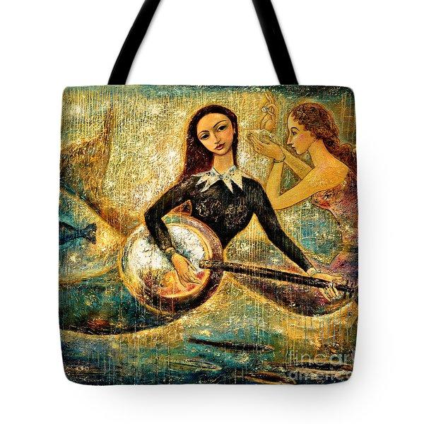 Undersea Tote Bag by Shijun Munns