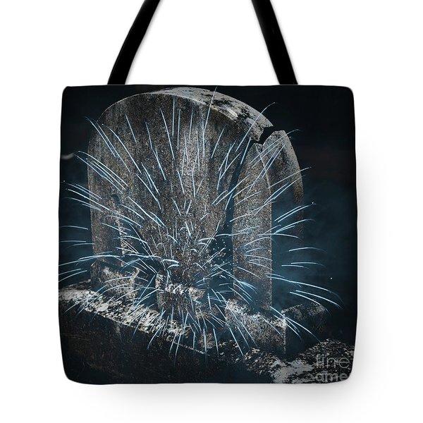 Underworld Encounter Tote Bag by John Stephens