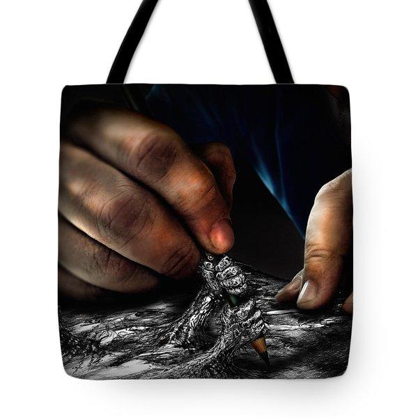 Unfinished Tote Bag by Alessandro Della Pietra