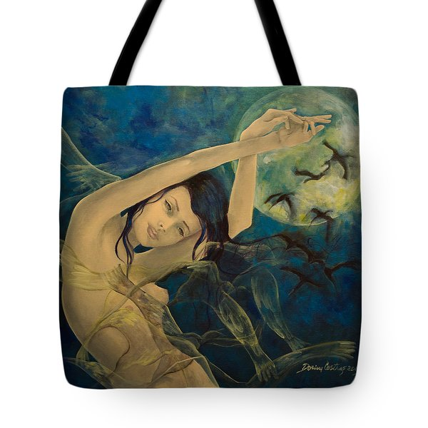 Unfinished Song Tote Bag by Dorina  Costras