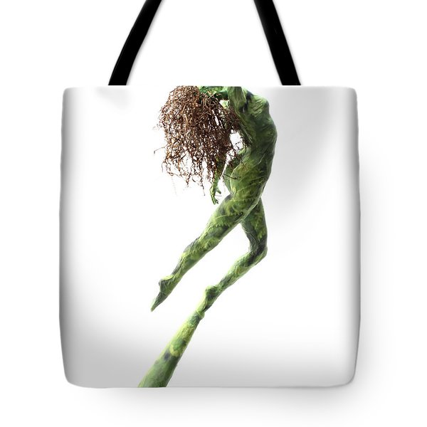 Unfurled Back View Tote Bag by Adam Long