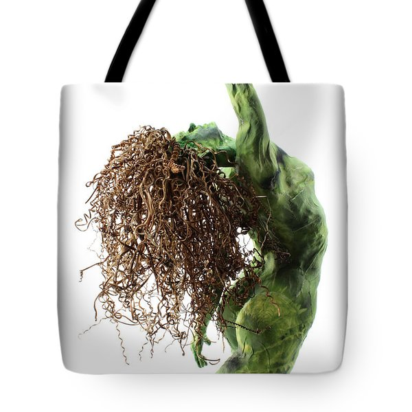 Unfurled back view detail Tote Bag by Adam Long