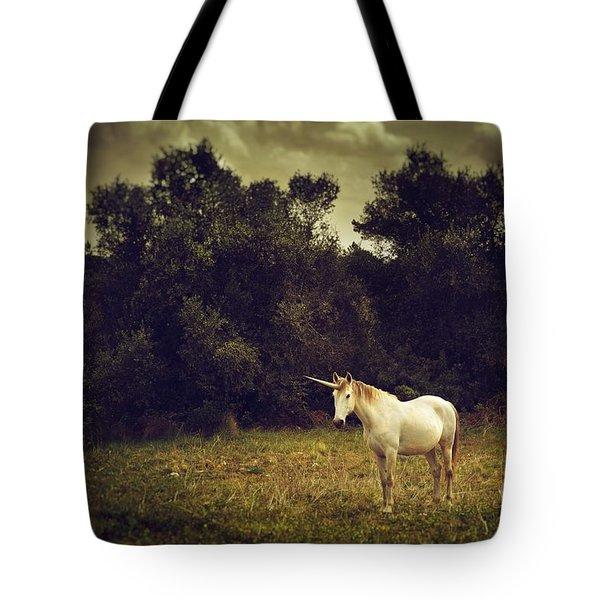 Unicorn Tote Bag by Carlos Caetano