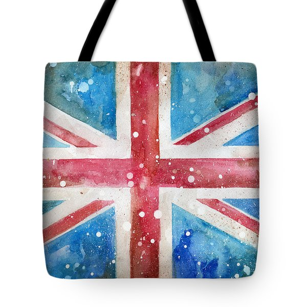 Union Jack Tote Bag by Sean Parnell