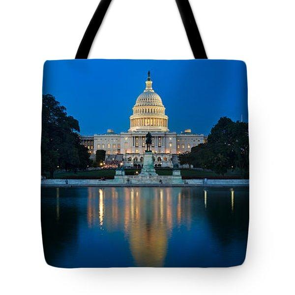United States Capitol Tote Bag by Steve Gadomski