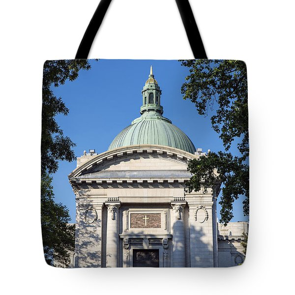 United States Naval Academy Chapel Tote Bag by John Greim