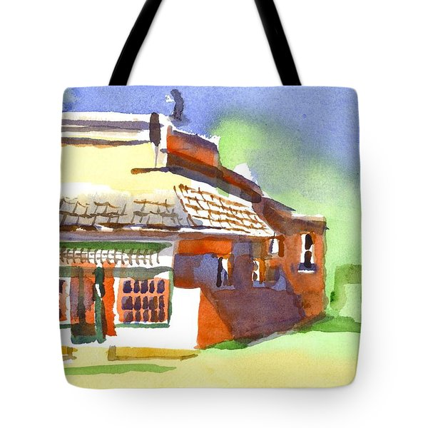 United States Post Office Tote Bag by Kip DeVore