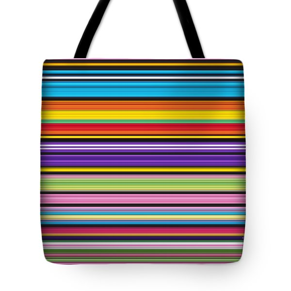 Unity Of Colour 1 Tote Bag by Tim Gainey