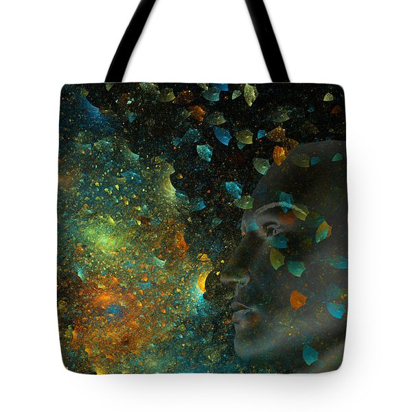 Universal Mind Tote Bag by Betsy A  Cutler