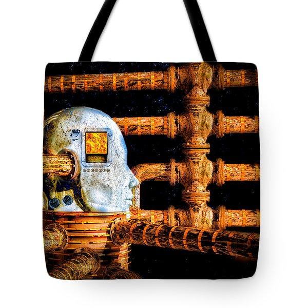 Universal Mind Tote Bag by Bob Orsillo