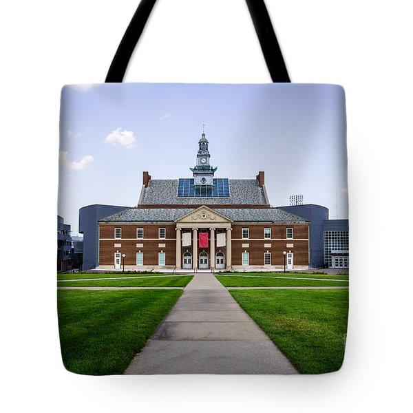 University Of Cincinnati Tangeman University Center  Tote Bag by Paul Velgos