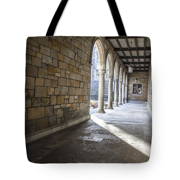 University Of Michigan Walkway Tote Bag by John McGraw