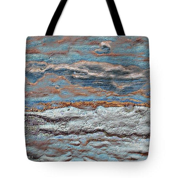 Untamed Sea 1 Tote Bag by Carol Cavalaris