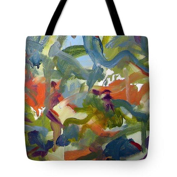 Untitled #24 Tote Bag by Steven Miller