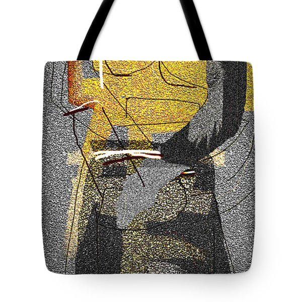 Untitled 413 Tote Bag by Nedunseralathan R