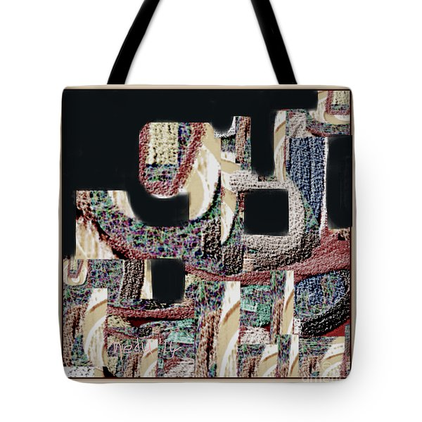 Untitled 452 Tote Bag by Nedunseralathan R
