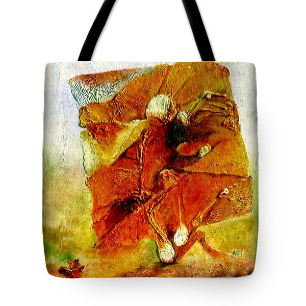 Untitled Tote Bag by Henryk Gorecki