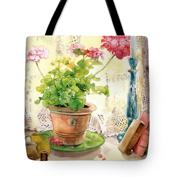 Untitled Tote Bag by Julia Rowntree