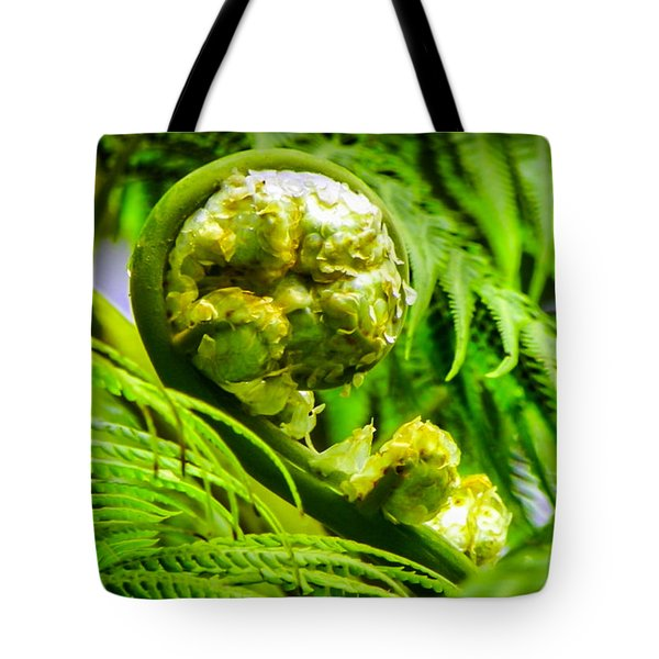 Unveiling Life Tote Bag by Karen Wiles